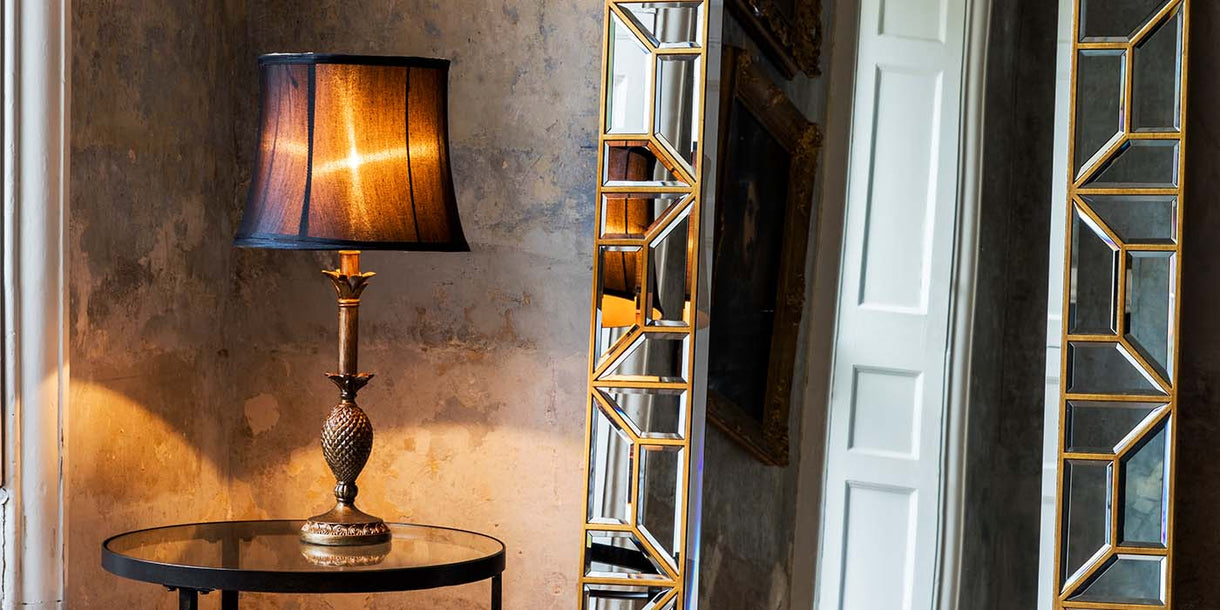 Martino Table Lamp and Mirror