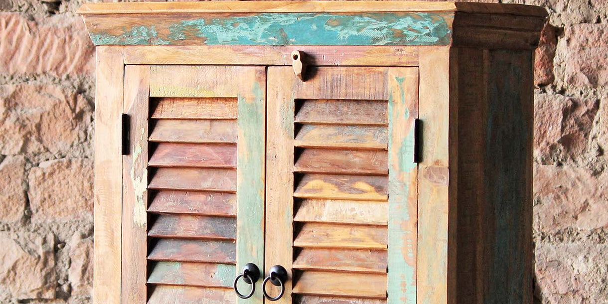 Mary Rose 2 Door Reclaimed Wood Sideboard Cabinet