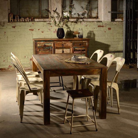 Mary Rose Reclaimed Boat Wood Dining Table