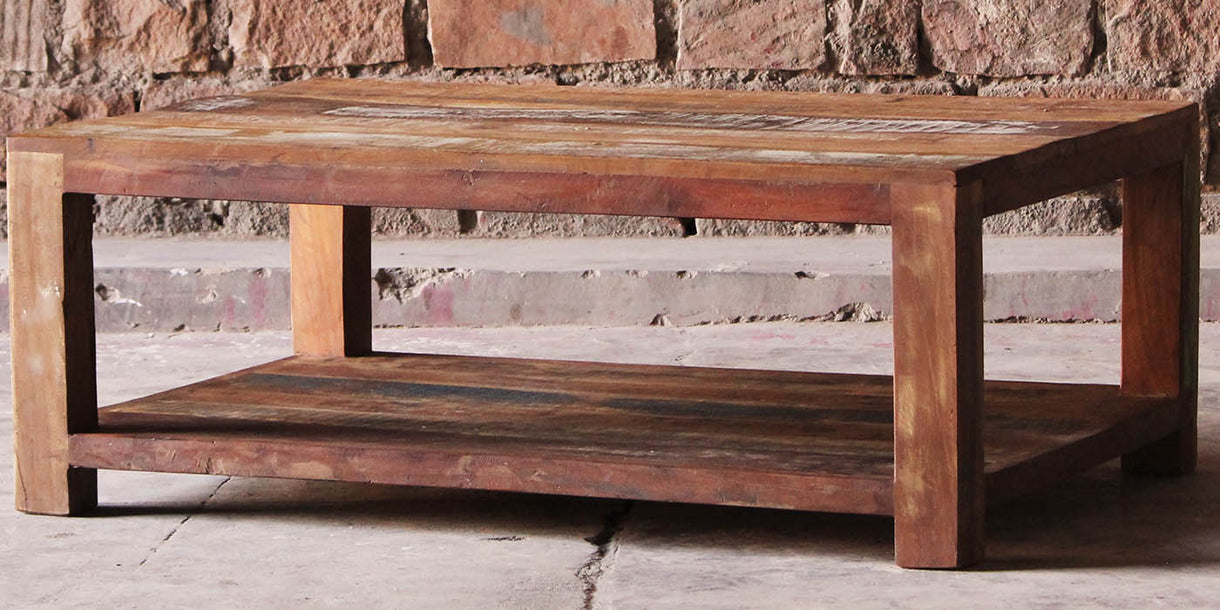 Mary Rose Reclaimed Wood Coffee Table