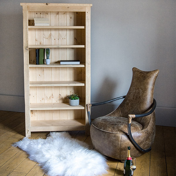 Beam Reclaimed Wood Bookcase