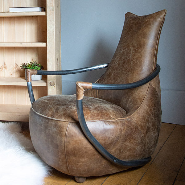 Maverick Leather Armchair