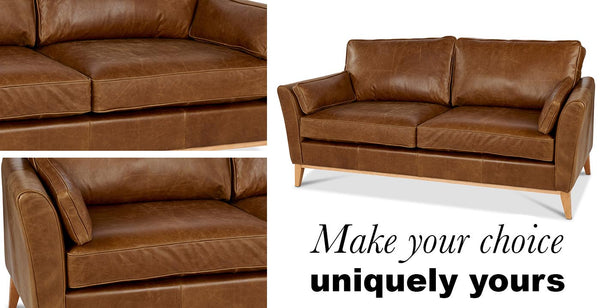 Maxwell Leather Sofa at Modish Living