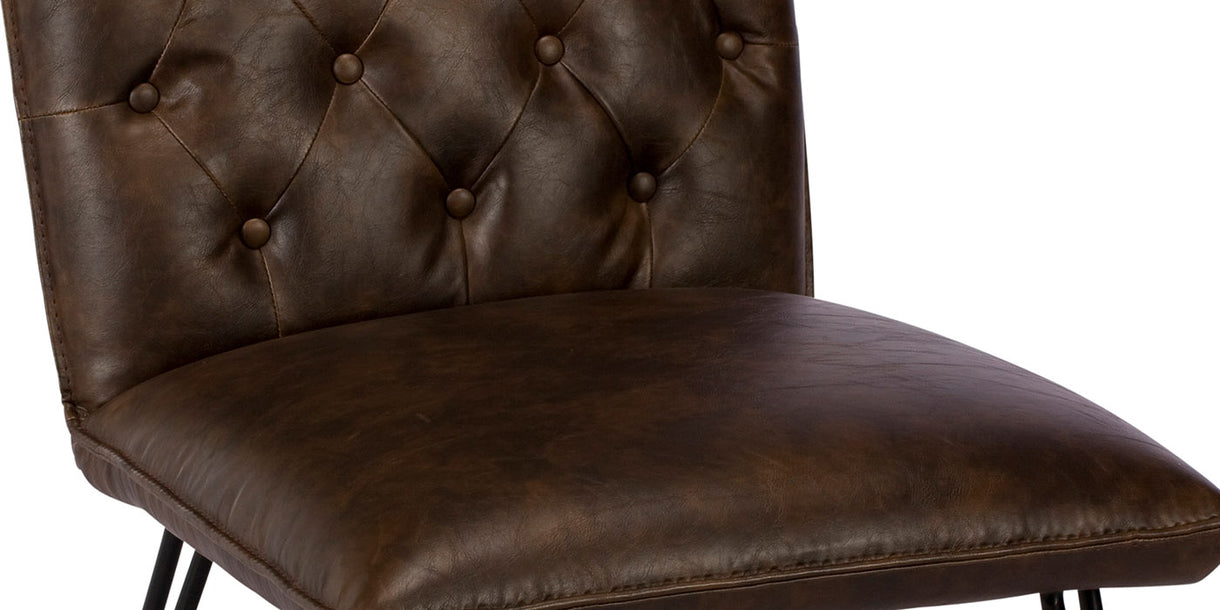 Megan PU Leather Dining Chair