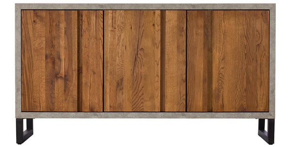 Mitcham Industrial Oak Sideboard