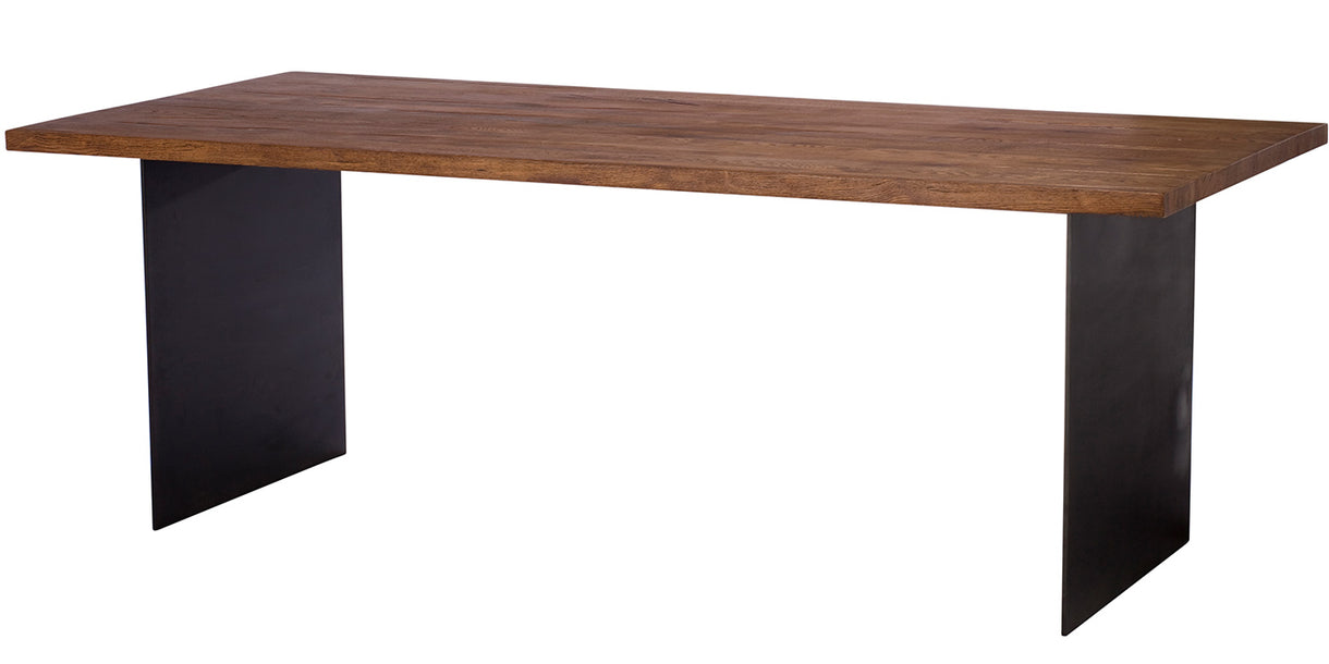 Mitcham Industrial Oak Dining Table