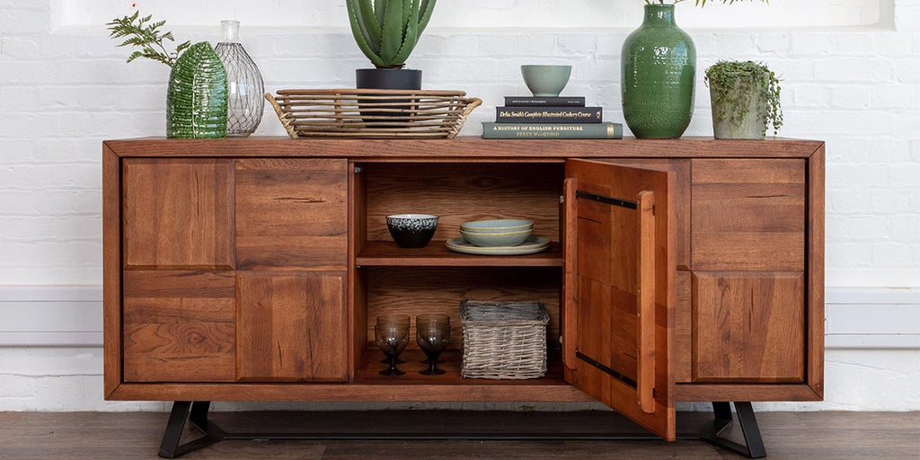 Mitcham Oak Large Sideboard
