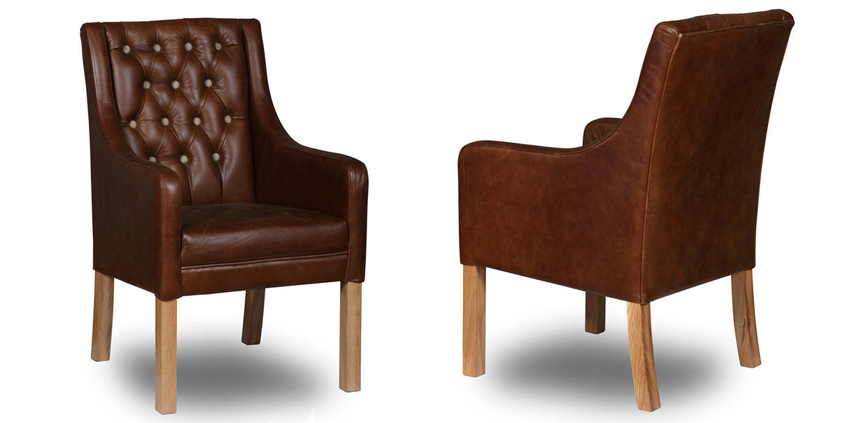 Morton Leather Dining Chairs