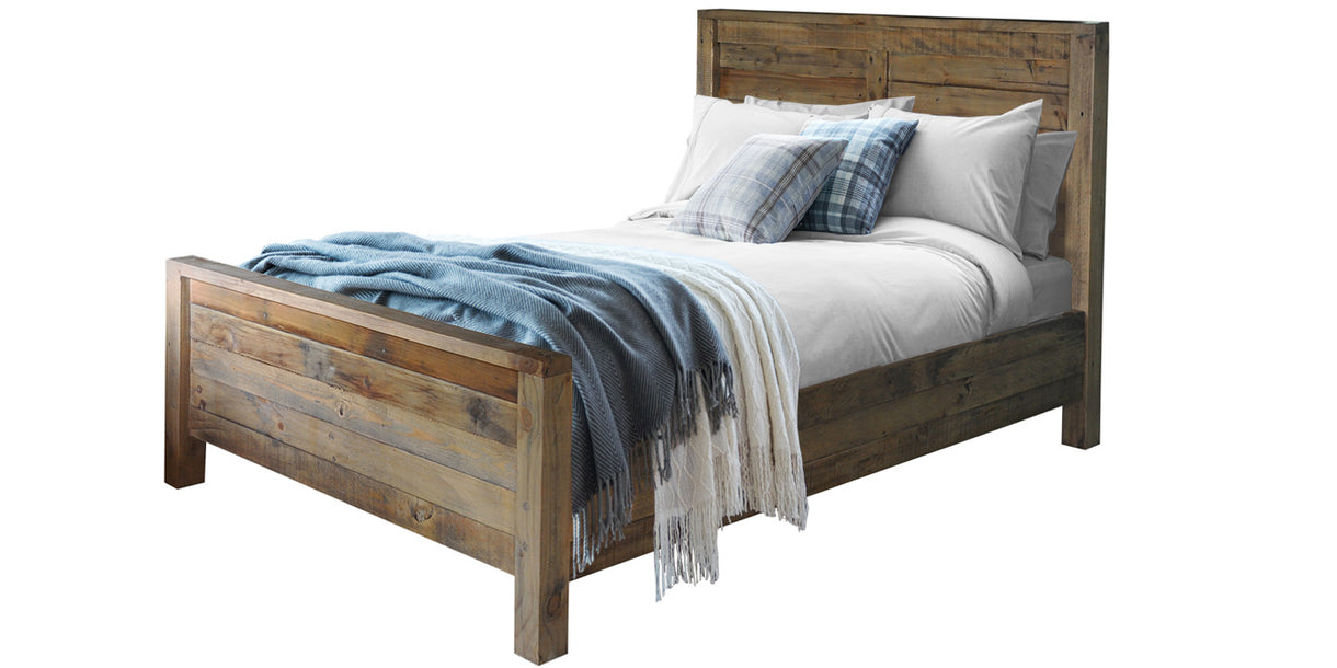 Nilsson Rustica Kingsize Reclaimed Wood Bed