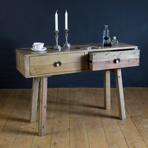 Nilsson Rustica Reclaimed Wood Dressing Table for bedroom