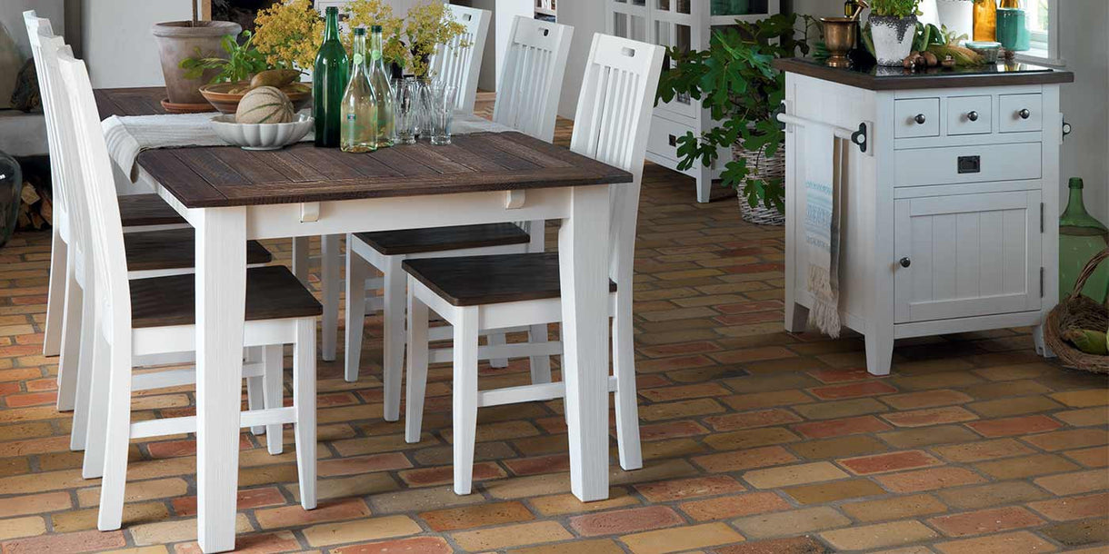 Nottingham Extending Dining Table Wooden Chairs