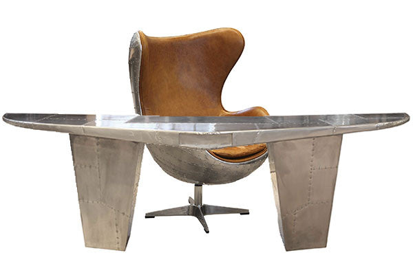 Aviator Wing Desk and armchair
