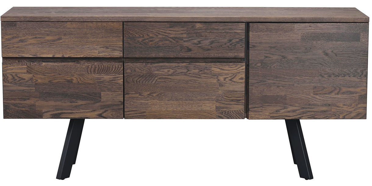 Picasso Industrial Oak Sideboard Dark