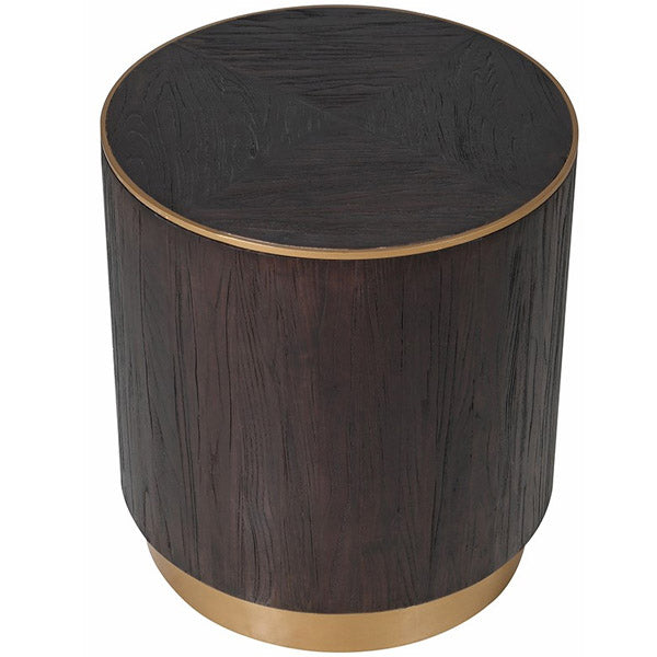 Pimlico Elm Round Side Table