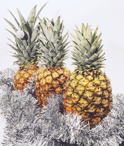 Pineapple Christmas Decorations
