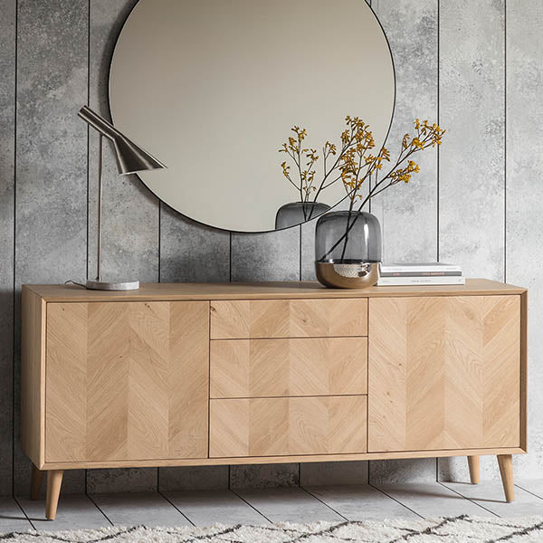 Portobello Oak Sideboard