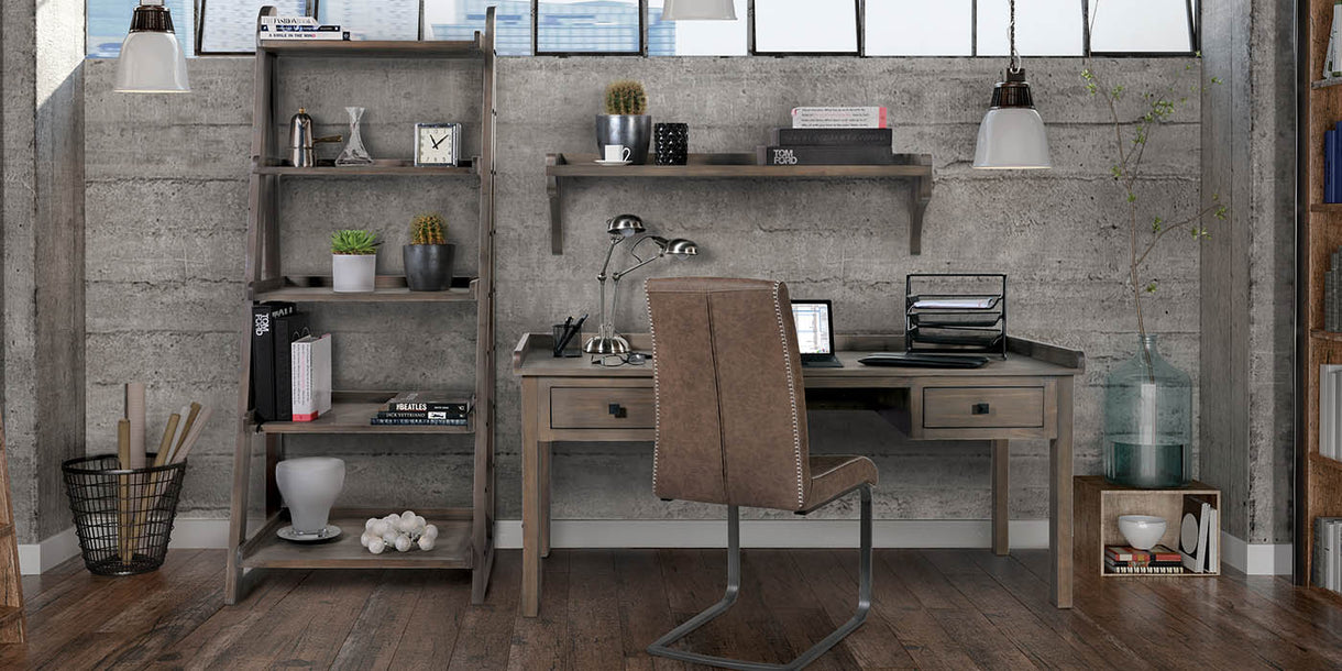 Quinton Reclaimed Wood Desk and Chair