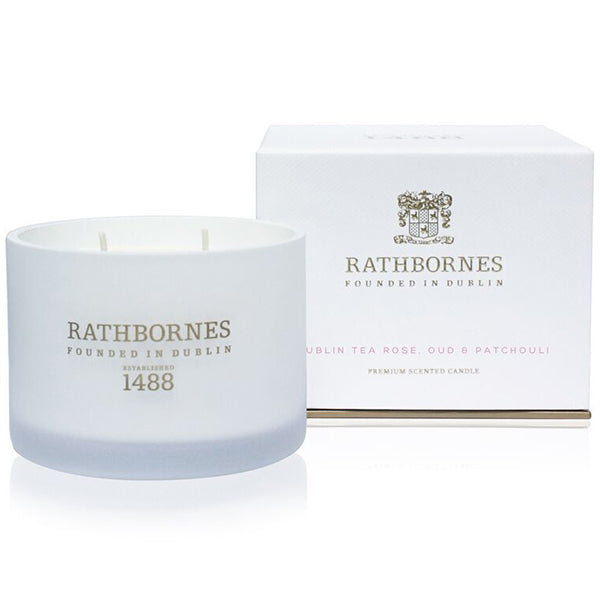 Rathbornes Dublin Tea Rose Candle