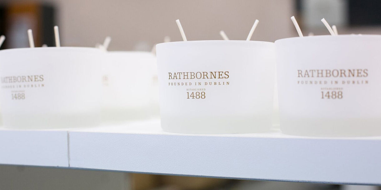 Rathbornes Classic Scented Candles with 2 Wicks