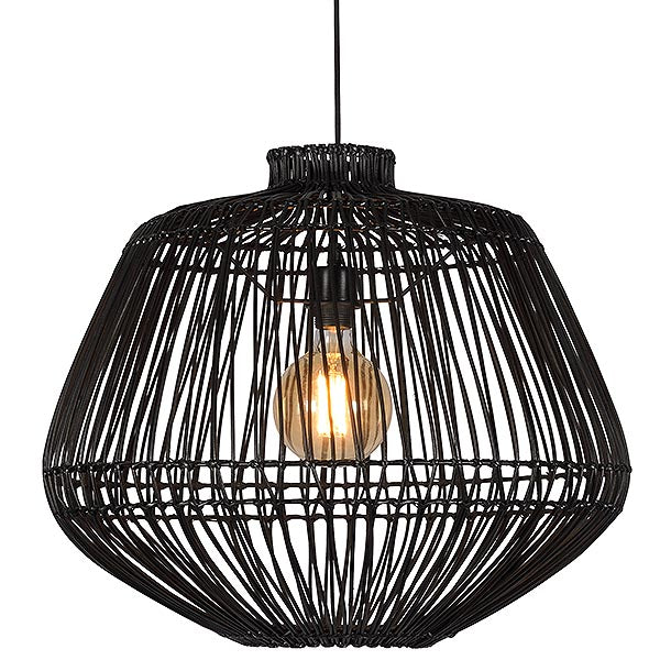 Rattan Gaze Pendant Light