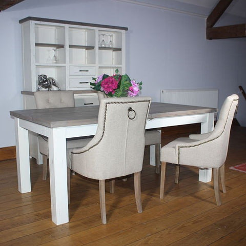 Dorset Purbeck Reclaimed Wood Extending Dining Set