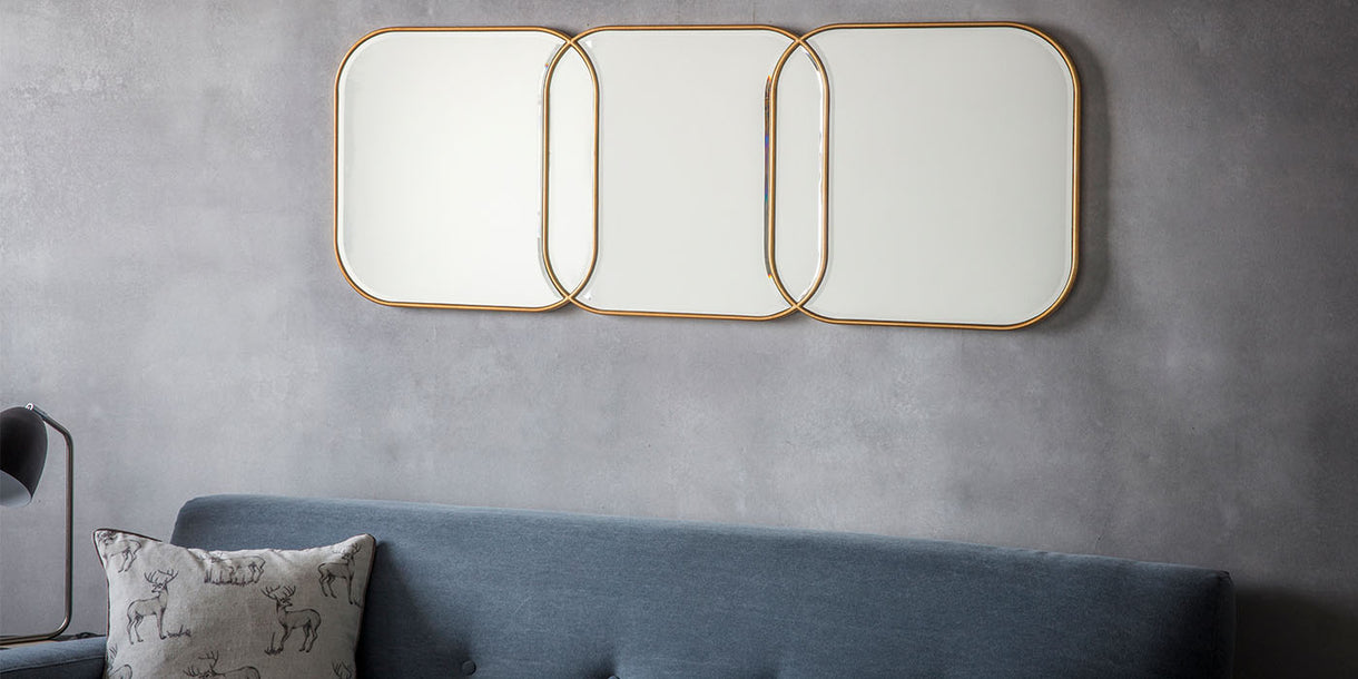 Rene Wall Mirror with Rounded Corners