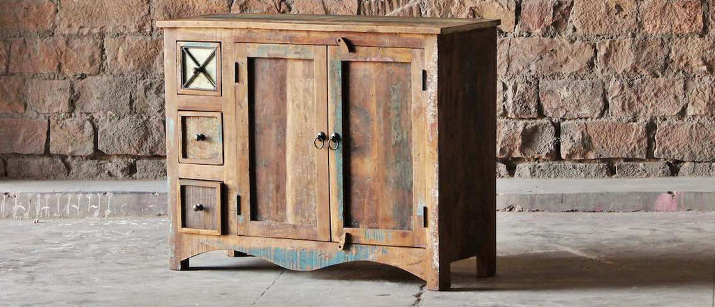 Riya Reclaimed Wood Furniture Collection