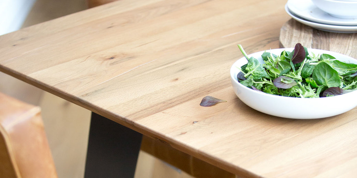 Rocco Industrial Oak Dining Table Top