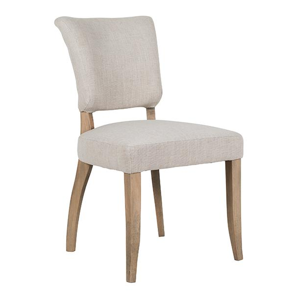 Roxy Cream Upholstered Dining Chair