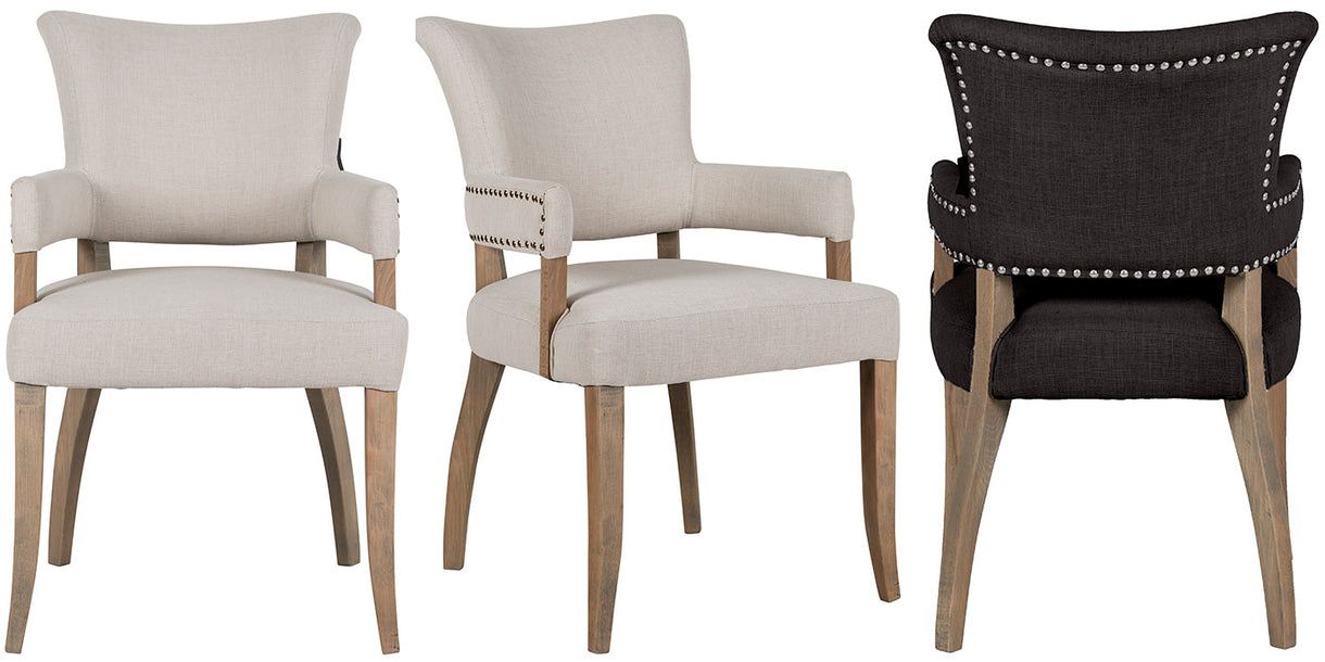 Roxy Dining Chairs with Armrest
