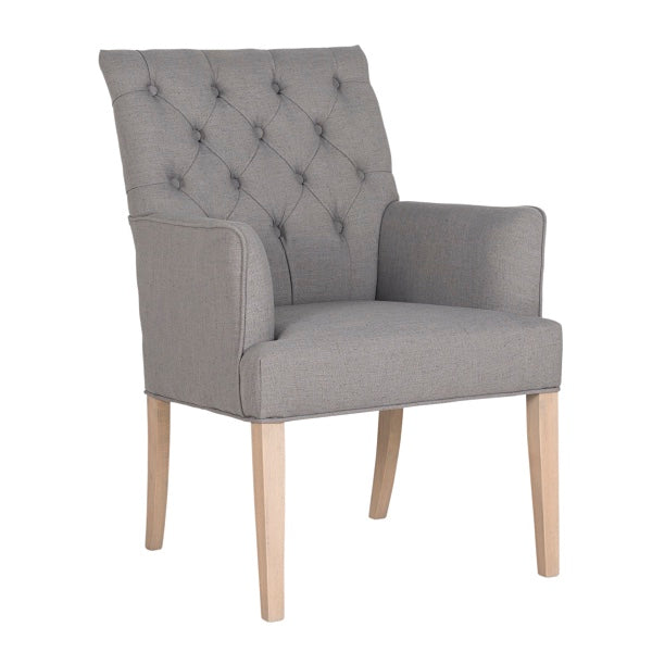 Emirates Grey Upholstered Dining Chairs