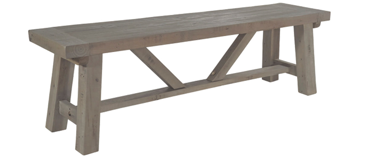 Farringdon Reclaimed Wood Bench | Modish Living