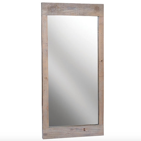 Saltash Reclaimed Wood Mirror