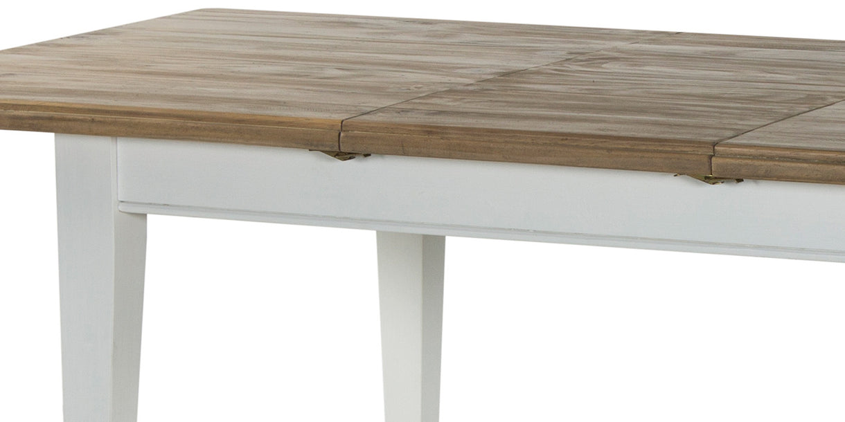 Savannah Reclaimed Wood Extending Dining Table Top