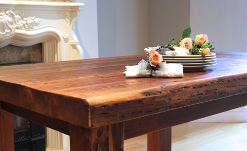 why choose reclaimed wood for your furniture
