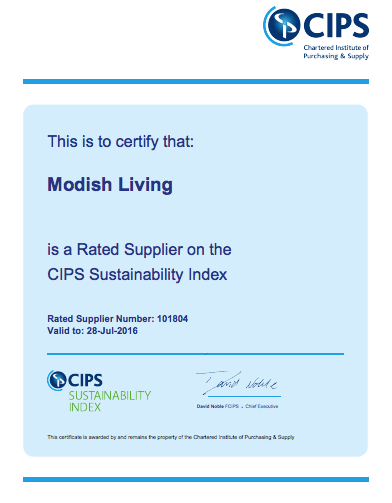 CIPS Sustainability Index for Modish Living