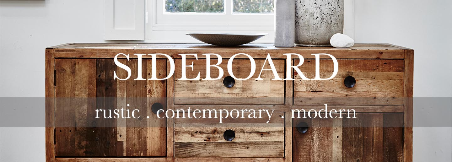 Standford Reclaimed Wood Sideboard