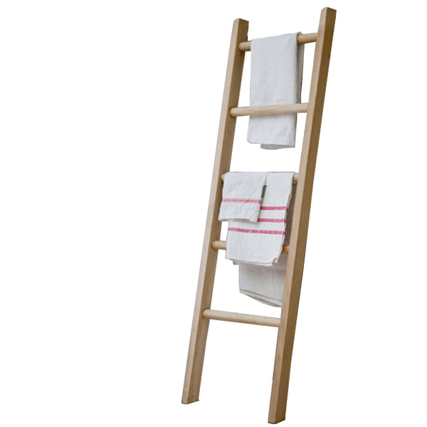 Small Hambledon Raw Oak Towel Ladder