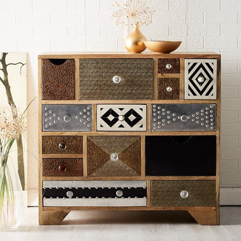Sorio Reclaimed Wood Multi Chest of Drawers