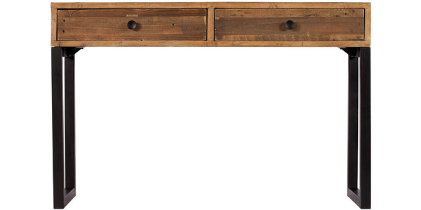 Standford Industrial Reclaimed Wood Console Table