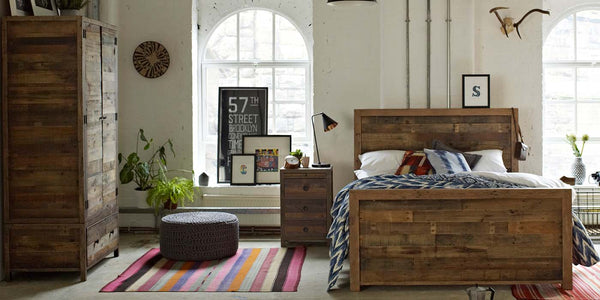 Standford Reclaimed Wood Bedroom