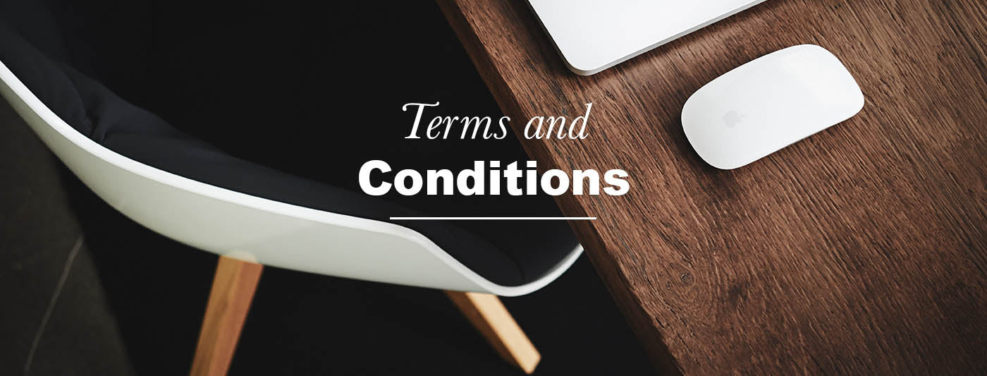 Terms and Conditions Modish Living