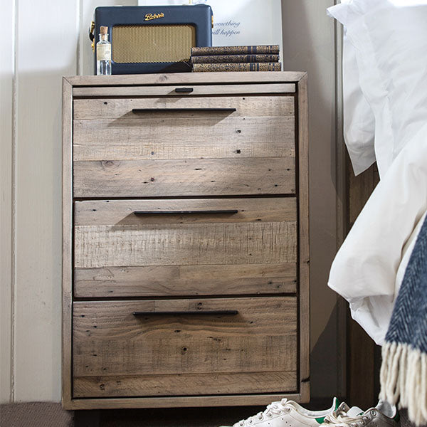 Thornton Reclaimed Wood Bedside Table