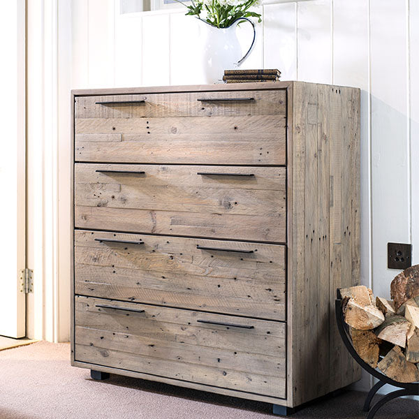 Thornton Reclaimed Wood Medium Chest of Drawers