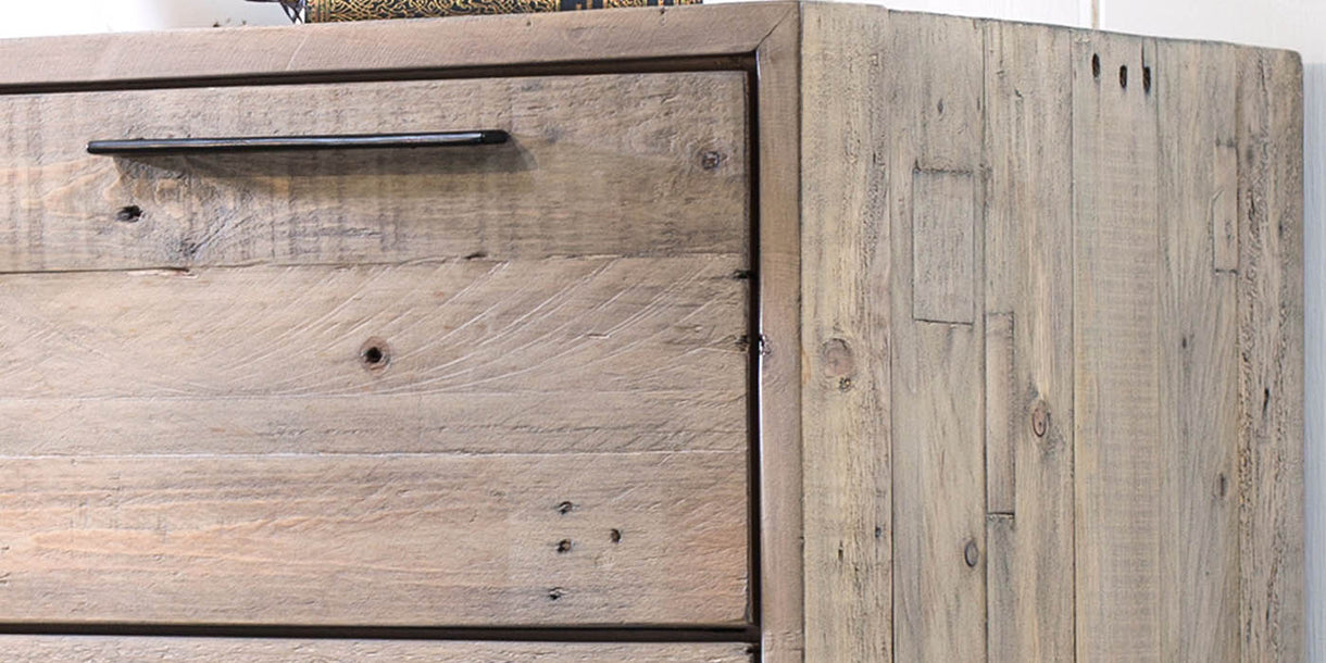 Thornton Reclaimed Wood Tall Chest of Drawers
