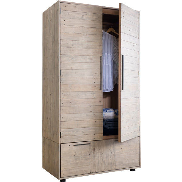 Thornton Reclaimed Wood Wardrobe