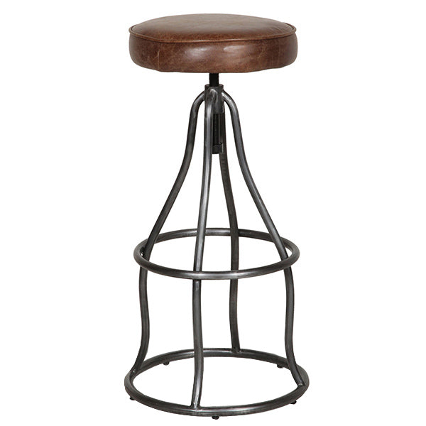 Thurlow Leather Bar Stool