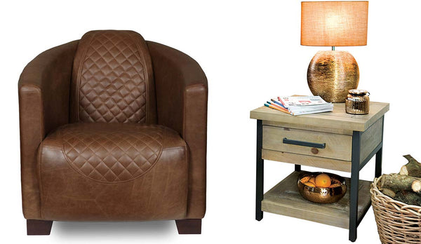 Triumph Armchair and Lansdowne Side Table