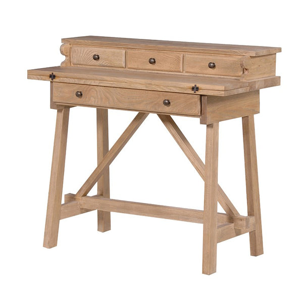 Alton Weathered Oak Foldaway Desk