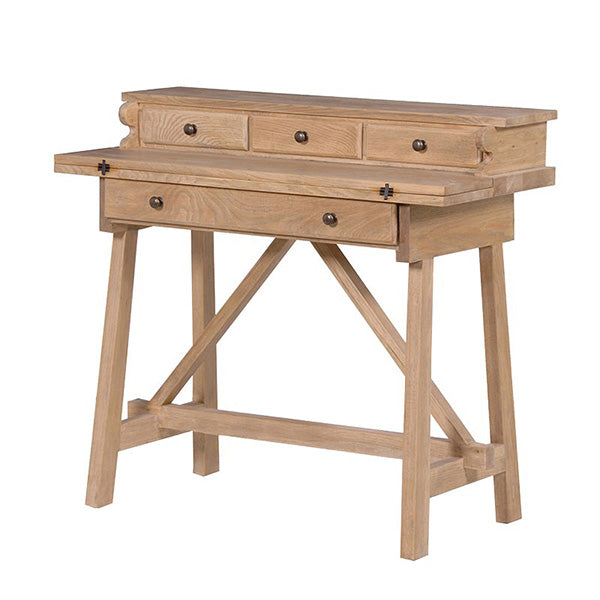 Weathered Oak Foldaway Desk